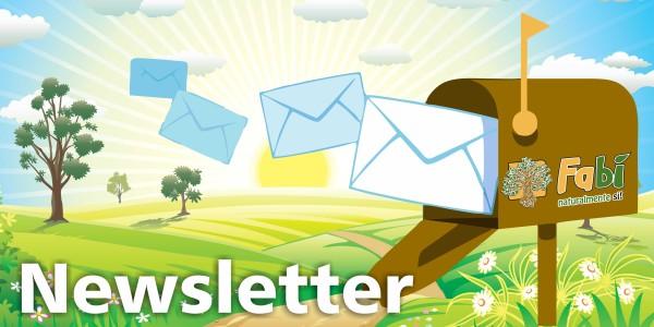 Iscriviti subito alla Newsletter Fabì!