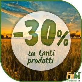 Ogni giorno dei prodotti scontati del 30 %
