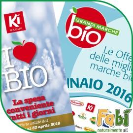 On Line i nuovi volantini I Love Bio e Grandi Marche Bio